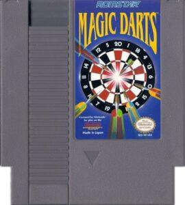 Magic Darts NES Cartridge