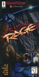 Primal Rage 3DO Box