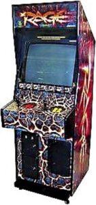 Primal Rage Arcade Cabinet Front
