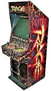 Primal Rage Arcade Cabinet Side
