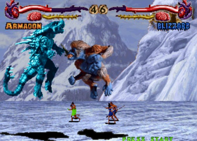 Primal Rage - Blizzard