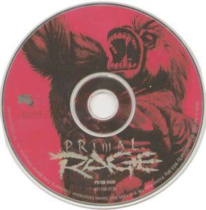 Primal Rage DOS Disc