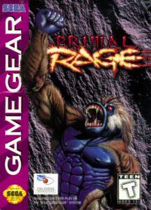 Primal Rage GG Box