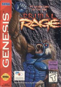 Primal Rage Genesis Box