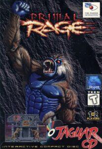 Primal Rage Jaguar CD Box
