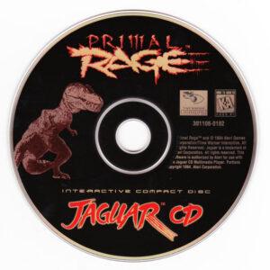 Primal Rage Jaguar CD Disc