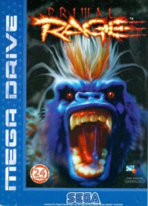 Primal Rage Mega Drive Box