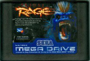 Primal Rage Mega Drive Cartridge
