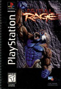 Primal Rage PlayStation Box