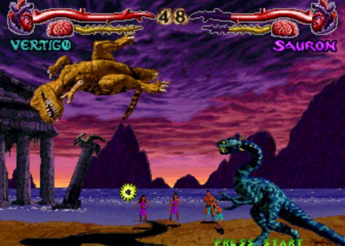 Primal Rage - Sauron vs Vertigo