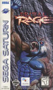 Primal Rage Sega Saturn Box