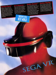 Sega VR Advertisement