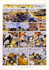 The Adventurer - Sam & Max 2