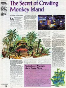 The Adventurer -The Secret of Creating Monkey Island