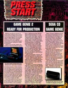 Game Genie 2 Magazine Article