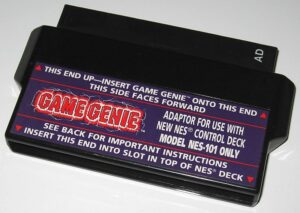 Game Genie NES Toploader Adapter