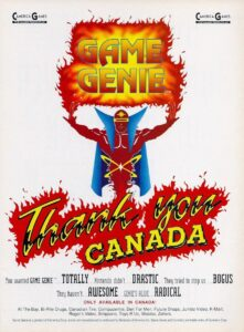 Game Genie - Thank You Canada Ad
