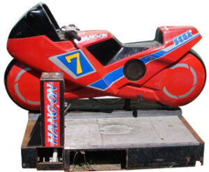 Hang-On Arcade Cycle Side View