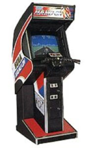Hang-On Arcade Upright Cabinet