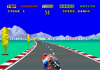 Hang-On First Turn