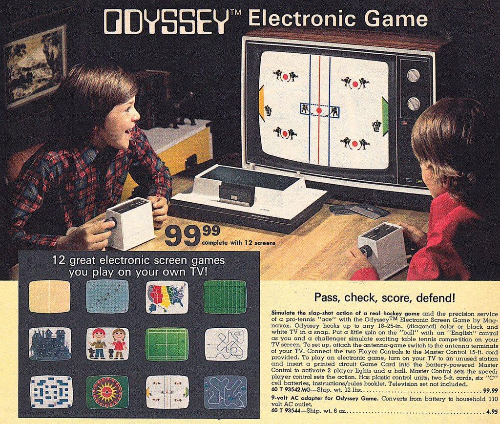 Magnavox Odyssey Advertisement