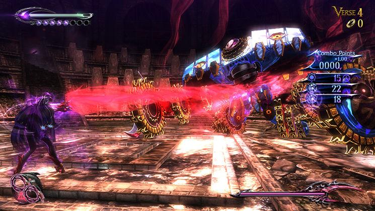 Bayonetta 2 - Boss Battle