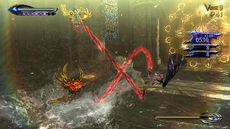 Bayonetta 2 - Hack and Slash