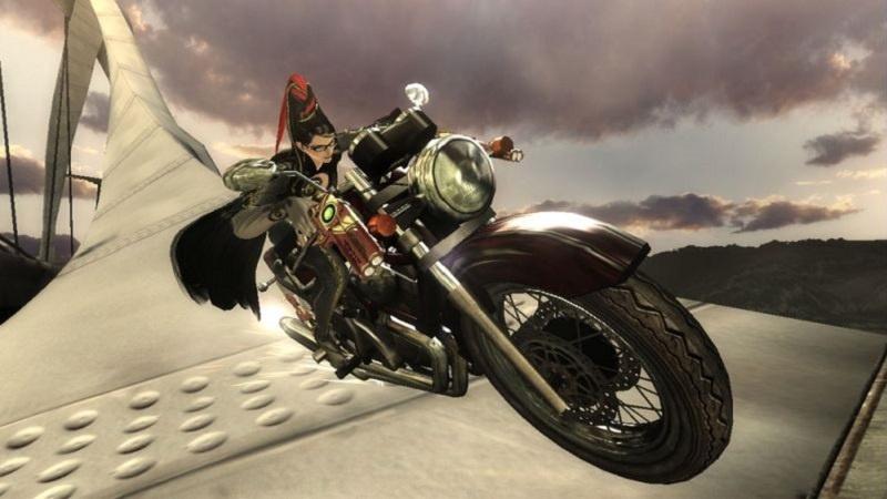 Bayonetta - Motorcycle