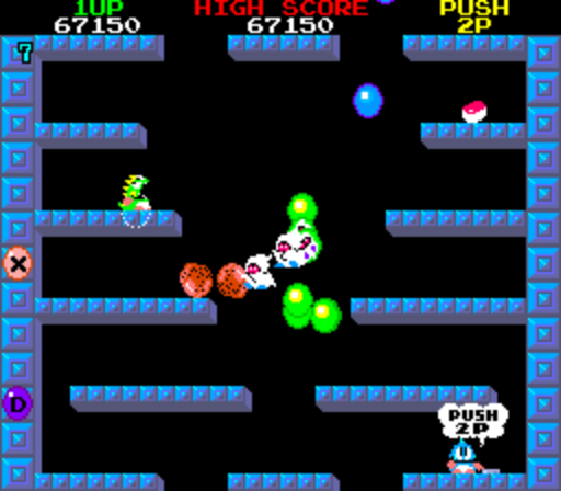 Bubble Bobble - Level 7
