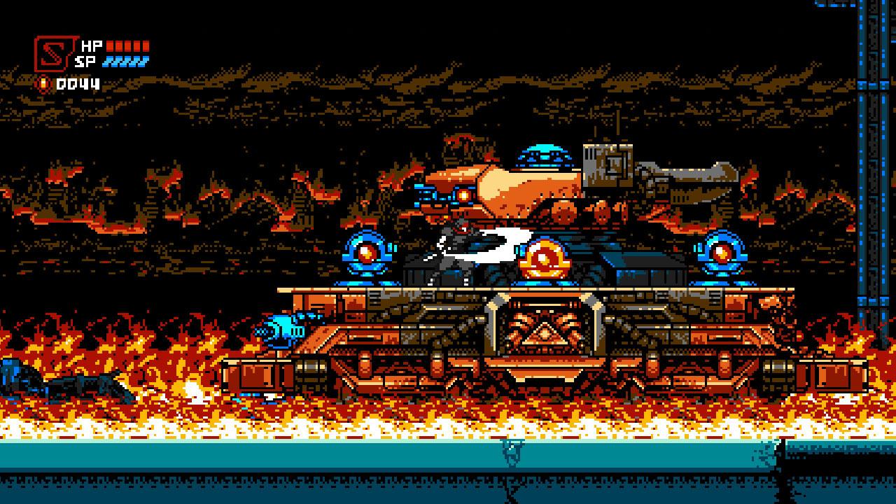 Cyber Shadow - Fire