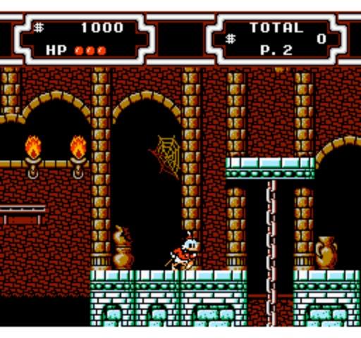 DuckTales 2 - Castle