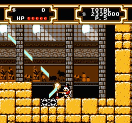 DuckTales 2 - Discovering Hidden Room