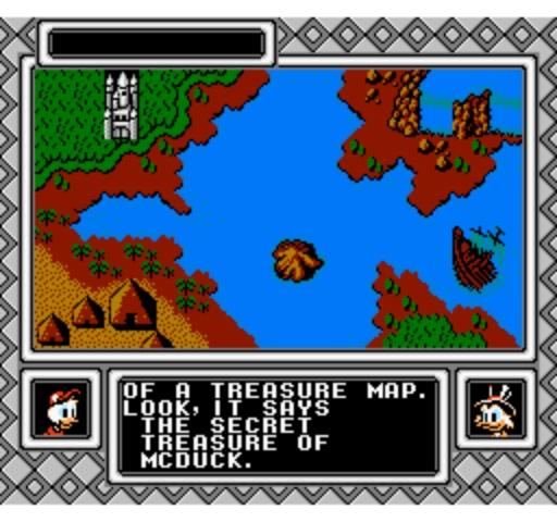 DuckTales 2 - Map