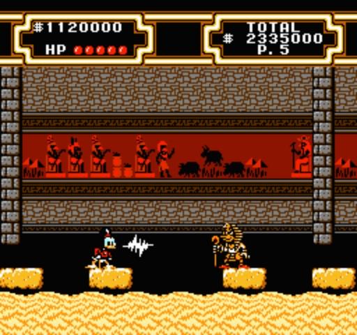 DuckTales 2 - Pyramid Enemy
