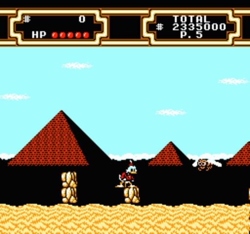 DuckTales 2 - Pyramids
