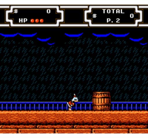 DuckTales 2 - Ship