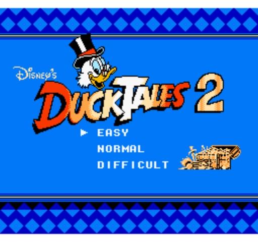 DuckTales 2 - Title Screen