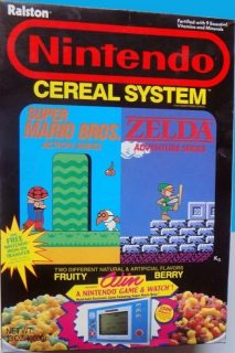 Nintendo Cereal System Box - Game & Watch