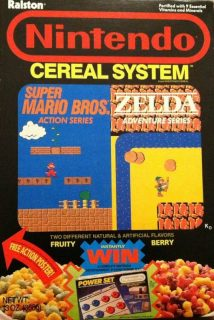 Nintendo Cereal System Box - Power Set