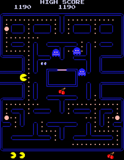 Pac-Man - On The Attack