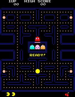 Pac-Man - Starting Position