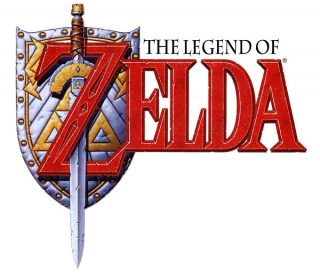 The Legend of Zelda - A Comic Book Adventure Logo