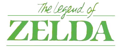 The Legend of Zelda - Comic Logo
