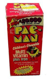 Pac-Man Vitamins Children's Chewable Box