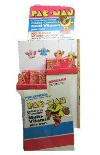 Pac-Man Vitamins Display