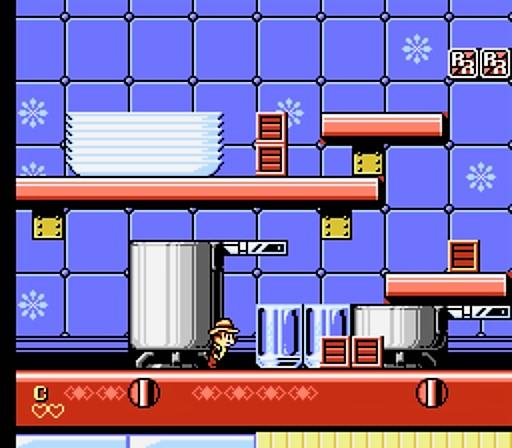 Chip 'n Dale Rescue Rangers 2 - Restaurant Kitchen