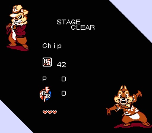 Chip 'n Dale Rescue Rangers 2 - Stage Clear