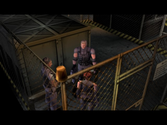 Dino Crisis - Beginning of Game
