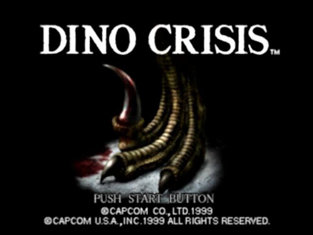 Dino Crisis - Title Screen