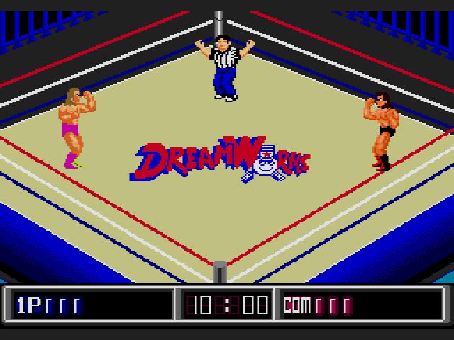 Jesse Ventura Wrestling Superstars Gameplay 1